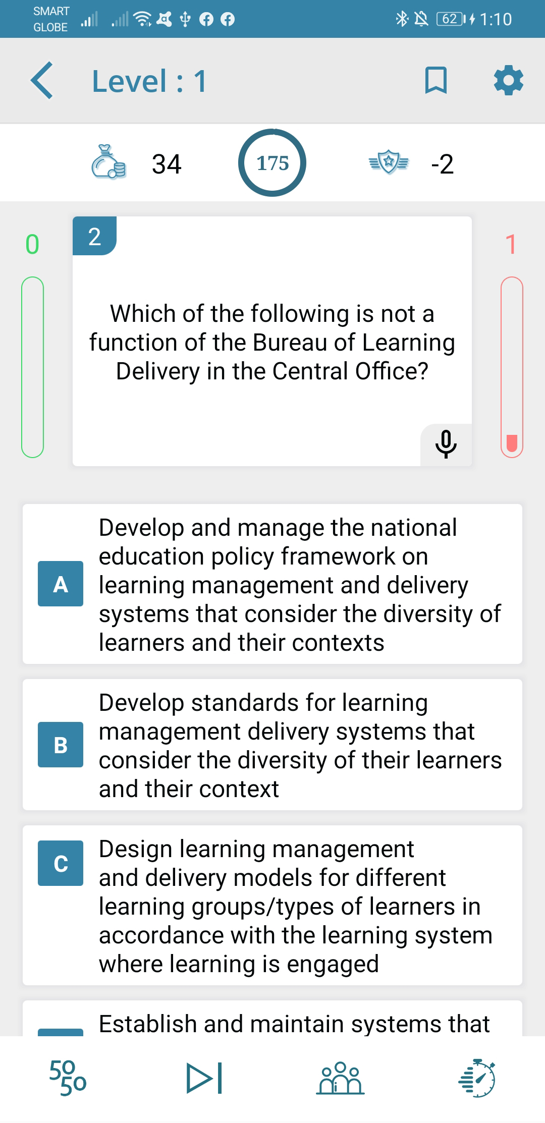 TeacherPH Principals Test NQESH Online Reviewer Android Application