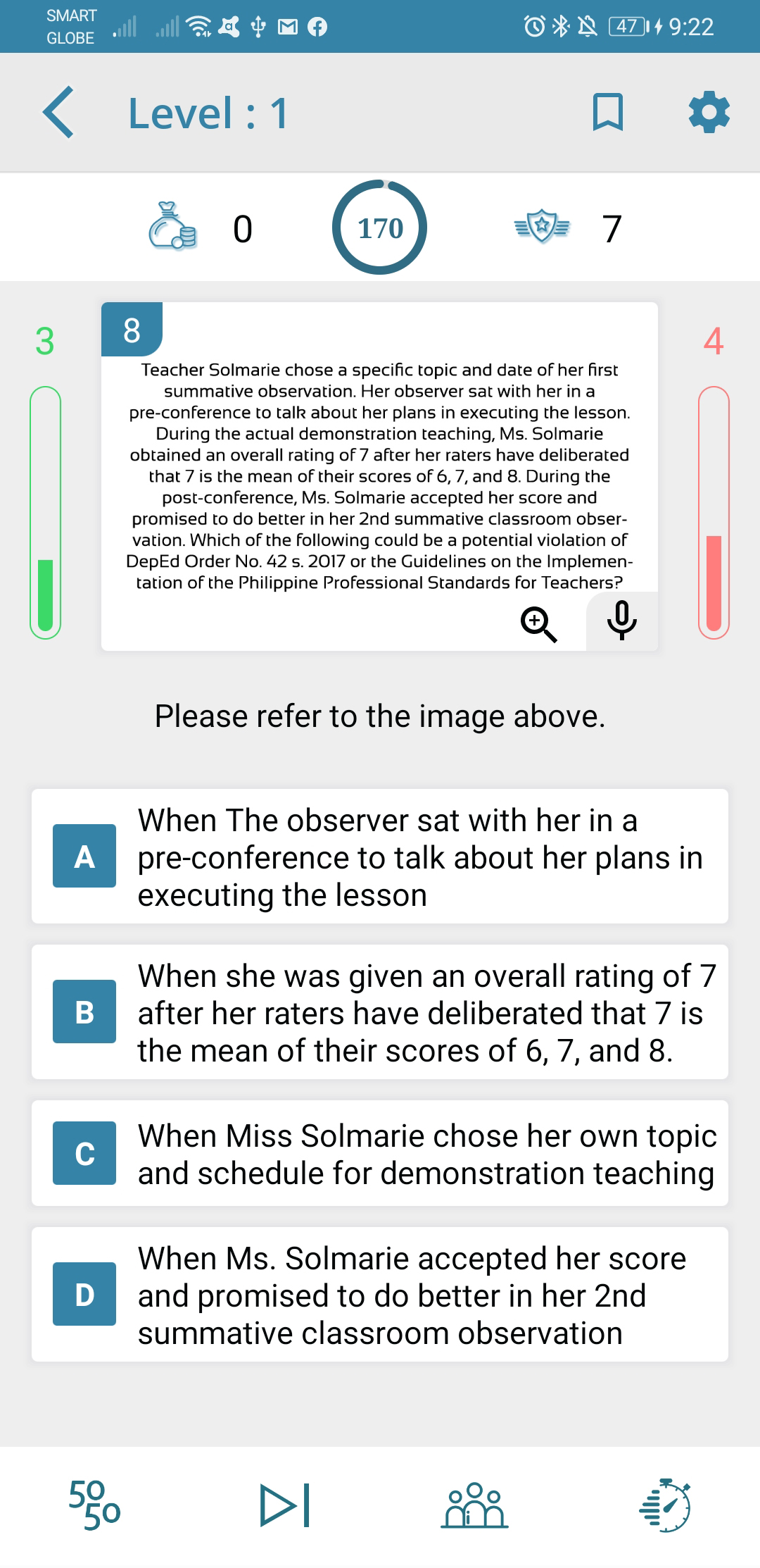 TeacherPH Principals Test NQESH Reviewer Android App