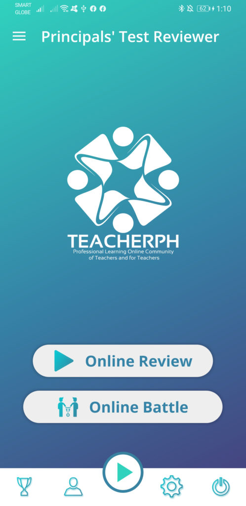 TeacherPH Principals Test NQESH Reviewer Android Application